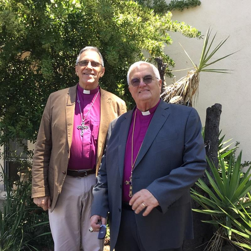 Bishop Richard visits the Presiding ArchBishop