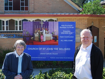 New sign at St John the Beloved